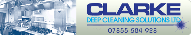 Advertising banner for Clarke Deep Cleaning Services Ltd