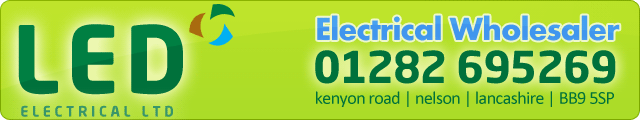 Advertising banner for LED Electrical